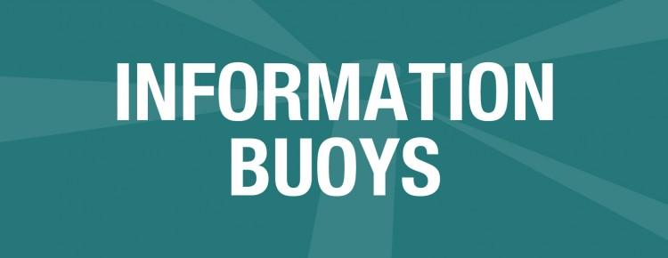 Information Buoys Banner